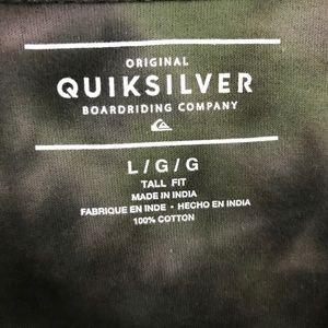 Quiksilver Shirts - Quiksilver Men's T-Shirt Gibus Moon Unique Look
